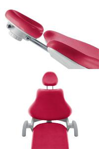 KaVo ESTETICA E30 headrest Стоматологические установки KaVo Estetica E30 Преимущества polster-e30 - KaVo Dental